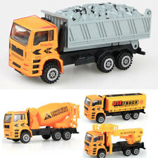 1:50 Engineering Vehicle Model Cement Mixer Car Tank Truck Toy Plastic Alloy Toy
