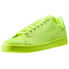 adidas Stan Smith Womens Trainers Neon New Shoes