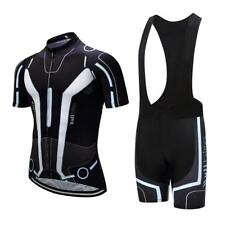 Men's Cycling Jersey Set Breathable Bicycle Jersey Sleeveless Triathlon Trisuit