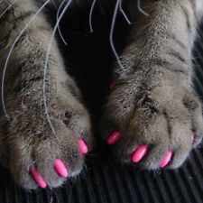 20Pcs Soft Pet Dog Cats Kitten Paw Claws Control Nail Caps Cover Pet Accessories