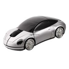 Car Shape Wireless Optical Mouse Color Changing Home Office USB SO6H