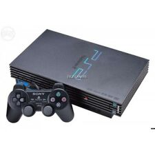 Playstation 2 Black Console plus ~100's of  games on HDD withsoftware MCfreeboot