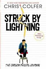 Struck By Lightning: The Carson Phillips Journal by Colfer, Chris NEW w/DJ