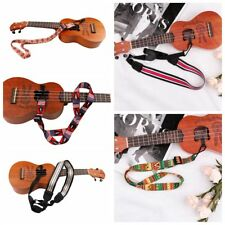 New Nylon Ukulele Strap Sling Band With Hook Adjustable For Ukulele Guitar 1pc