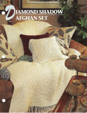 Annie's Attic Crochet Quilt & Afghan Club Afghan Patterns 5 To Choose From