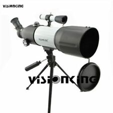 Visionking Powerful 80mm Refractor Astronomical Telescope Spotting Scope &Tripod