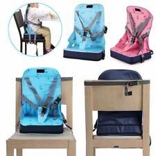 Kid Baby Dining Chair Highchair Seat Harness Bag Cushion Pad Booster Portable RM