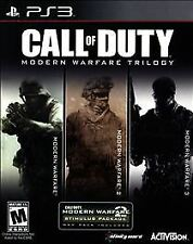 CALL OF DUTY MODERN WARFARE TRILOGY SONY PLAYSTATION 3 PS3 SEALED *FREE SHIPPING