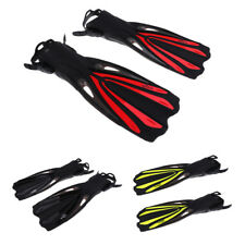 Adult Long Snorkeling Swim Fins Foot Flippers for Diving Swimming Water Sports