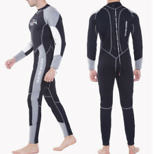 Men 3mm Warm Scuba Diving Full Wetsuit for Winter Swimming Surfing Water Sports