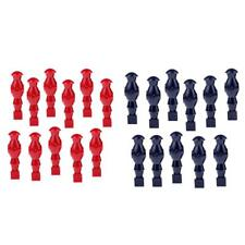 11 Pieces/Pack Table Soccer Player Replacement Foosball Table Men Players