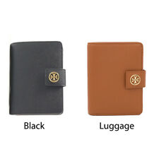 NEW Tory Burch Robinson French Fold Saffiano Leather - Black, Luggage Color