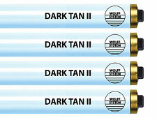 Tanning Bed Lamps Bulbs Wolff Dark Tan II F73 T12 100W RDC - 20 Minute Bronzer!