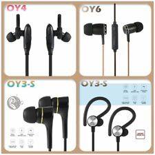 Wired Bluetooth 4.0 Earphone Stereo Headset Hands-free Sports Earbuds Lot SM