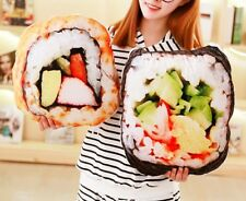 Realistic Kawaii Food Japanese Sushi Roll Pillow Toy Plush Decoration Spicy Tuna