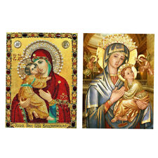 DIY 5D Religious Diamond Embroidery Painting Cross Stitch Kit Home Decor
