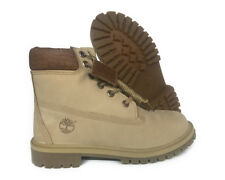 [TB0A1RRI] TIMBERLAND 6 INCH BEIGE GRADE SCHOOL BOOTS SIZE 7