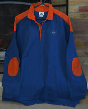 "LACOSTE ""Alligator""mens long sleeve polo rugby shirt,XXL,2XL VERY COOL"