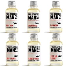 30ml LARGE The Bearded Man Co Beard Oil Conditioner Stops Itching Moustache