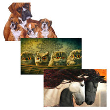 DIY 5D Cross Stitch Kit Animal Diamond Embroidery Painting for Home Decor
