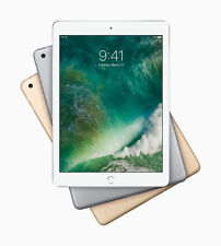 "Apple iPad 5th Gen 9.7"" 32GB 128GB Gold Gray Silver WiFi / Unlocked 4G Cellular"