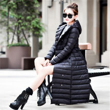 Ultra Long Down Coat Down Parka Women Hooded Warm Outerwear Coat Winter Jacket