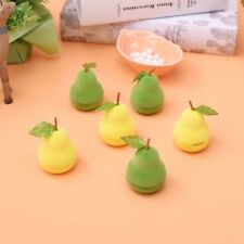 Lovely Storage Boxes Rings Cute Earring Velvet Pear Shape Display Jewelry Case