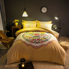 Chinese Flowers Bedding Traditional Full Queen King Quilt Comforter Bed Set