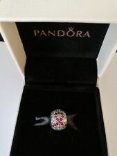 pandora cancer charm  genuine s925 ale cancer research pave ball charm pandora collection