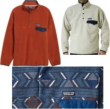 Men's PATAGONIA Synchilla Snap-T Fleece Pullover Classic Sweater Jacket NWT