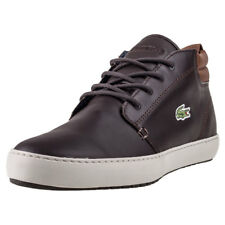Lacoste Ampthill Terra 317 Chukka Mens Trainers Dark Brown New Shoes