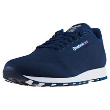 Reebok Classic Leather Ultk Mens Trainers Navy White New Shoes