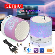 Bluetooth Speakers Wireless LED Portable Mini Hands Free Speaker With TF USB FM