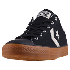 Converse Star Player Ox Mens Trainers Black Gum New Shoes