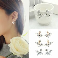 Lady Fashion Crystal Exquisite Diamond Earrings Ear Studs Jewelry Gift