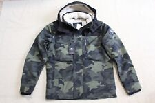 NWT Men Hollister by Abercrombie  All-Weather Sherpa-Lined Jacket size M Camo