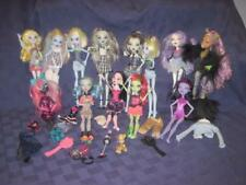 Monster High Doll and Accessories-Dog-Brushes Lot 13 Dolls Some HTF