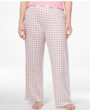Tommy Hilfiger Plus Size Pajama Pants Sleepwear Blue/Pink 2X