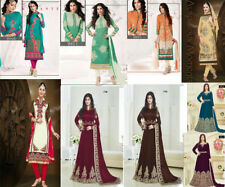 BOLLYWOOD ANARKALI SALWAR KAMEEZ, STRAIGHT SALWAR KAMEEZ, INDIAN PAKISTANI SUIT