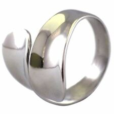 Womens Spoon Fashion Ring 316L Stainless Steel Band Size 6-10