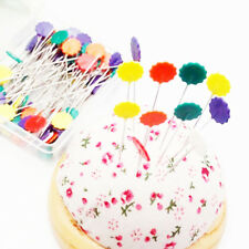 100Pcs Sewing Accessories Patchwork Pins Sewing Pin With Box DIY Patchwork Pins