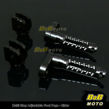 FOR Yamaha YZF R1 2000-2006 Multi Step Adjustable Front Foot Pegs