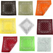 Women Soft Wrap Bandanas Shawl Stewardess Neckerchief Square Silk Satin Scarf WD