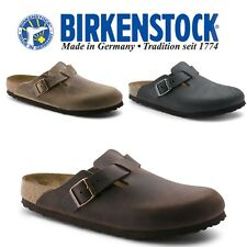 BIRKENSTOCK Boston Oiled Leather Clogs -ALL COLORS