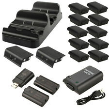 2Pcs Rechargeable Battery Pack+USB Charging Dock/Dual Charging Dock For Xbox One