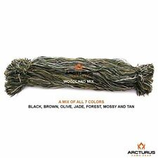 Arcturus Camo Ghillie Suit Thread - Lightweight Synthetic Yarn to Build