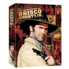 Adventures of Brisco County Jr.: The Complete Series (2006 8-DVD Set) NEW SEALED