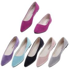 Womens Ballet Flats Shoes Casual Comfort Slip On Boat Loafers Shoes Single Shoes