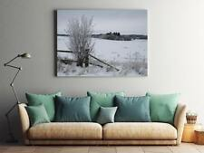 Poster Print Wall Art Decor Winter Snow Cold Frost Landscape