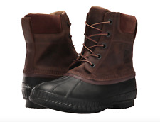 Sorel Mens Cheyanne II Lace Duck Boot sizes 8.5 11 Waterproof Leather Snow